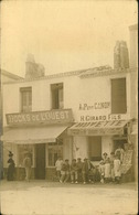N° 1682 RRR  GG  A IDENTIFIER SAINT GILLES CROIX DE VIE ? DOCKS DE L OUEST - Saint Gilles Croix De Vie