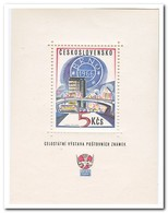 Tsjechoslowakije 1966, Postfris MNH, Stamp Exhibition Brünn - Tsjechoslowakije