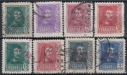 ESPAÑA 1938 Nº 841/844A + 845/46 BIEN CENTRADOS USADO - 1931-Aujourd'hui: II. République - ....Juan Carlos I