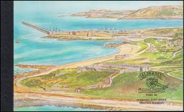Guernsey-Alderney Markenheftchen 7, Historische Entwicklung Fort Albert 1999, ** - Alderney