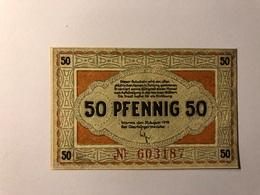 Allemagne Notgeld Worms 50 Pfennig - [ 3] 1918-1933 : République De Weimar