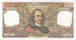 Billet 100 F Corneille Du 5-10-1978 FAY 65.63 Alph. Q.1211 - 1 Seul épinglage - 1962-1997 ''Francs''