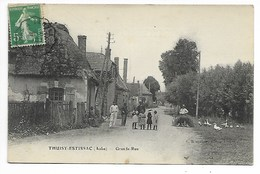 THUISY ESTISSAC Grande Rue AUBE Près Aix En Othe Bouilly Villeneuve L'Archevêque Troyes En Champagne - Autres Communes