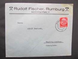 BRIEF Rumburg - Teplitz Rudolf Fischer Bergbau 1940 Teplice Rumburk ///  D*37007 - Allemagne