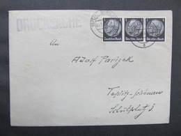 BRIEF Teplitz Drucksache 3x1 Pfg  ///  D*37008 - Allemagne