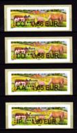 Atm-Lisa /  Lot CC 0.86, DD 0.88, AA 1.05, IP 1.30 € Salon De L'Agriculture 2019 - 2010-... Geïllustreerde Frankeervignetten