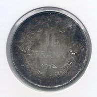 ALBERT I * 1 Frank 1914 Frans * Prachtig * Nr 9899 - 1909-1934: Albert I