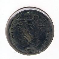 LEOPOLD II * 1 Cent 1874 * Z.Fraai * Nr 9894 - 1865-1909: Leopold II