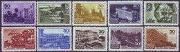 ROSSIA - RUSSIA - Mi. 1152/61  SPA  HOSPITALS  - **MNH - 1947 - 1923-1991 USSR