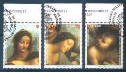 2010 ORDINE DI MALTA SMOM   Serie Completa Usata FDC Bellissima - Malta (Orde Van)