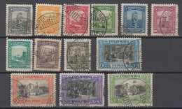 Colombia Mi# 424-36 Used Airmail 1941 - Colombia