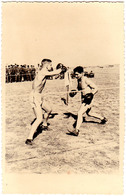 ROUMANIE / ROMANIA : BOXE / BOXING - 1943 : PIPERA - SERBAREA ANEF  - CARTE VRAIE PHOTO / REAL PHOTO - RRR (aa587) - Boxe