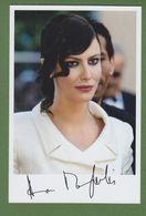 ANNA MOUGLALIS  AUTOGRAPHE / AUTOGRAMM  Glossy-photo 13/18 Cm - Autogramme & Autographen