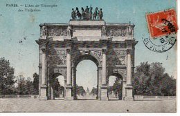 PARIS - L'ARC DE TRIOMPHE DES TUILERIES - Arrondissement: 01
