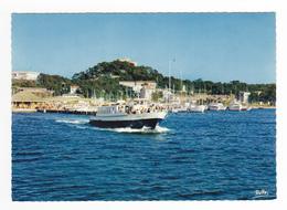 83 Ile De Porquerolles N°24 309 Départ Du Bateau Service Régulier Pour La Tour Fondue Voiliers Yachts - Porquerolles