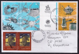 Argentina - 2011 - Lettre - Argenterie - Timbres Divers - Briefe U. Dokumente