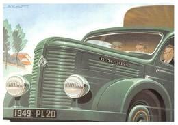 Camion Hotchkiss Illustrateur Alexis Kow - Camions & Poids Lourds