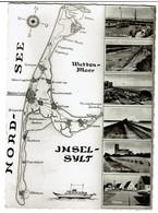 Multi-Vues Insel-Sylt - List / Kampen / Westerland / Hindenburgdamm / Keitum / Hörnum - 2 Scans - Sylt