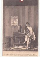 Exposition Coloniale,STRASBOURG 1924-Souks Nord Africains.Mme AICHA,célébre  Voyante Tunisienne- Dép67 -2scnas - Strasbourg