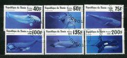 Benin  Nr.862/7       O   Used      (007) - Whales