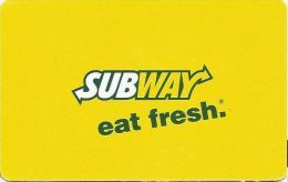Subway Gift Card - Gift Cards