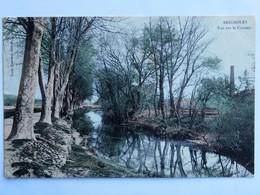 C.P.A. Couleur : 83 BRIGNOLES : Vue Sur Le Caramy, Timbre En 1905 - Brignoles