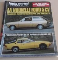 L'Auto Journal N°20 Novembre 1975 Essai Renault 16 L,Les Arcs,2 CV Cross,Finale R5 Gordini,Photos Porsche 924 - Auto/Moto