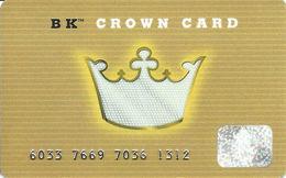 Burger King BK Crown Card - Gift Card - Gift Cards
