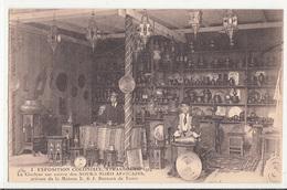 Exposition Coloniale,STRASBOURG 1924-Le Ciseleur Sur Cuivre Des Souks Africains,maison E & J. Boccara-dép67-2scans - Strasbourg