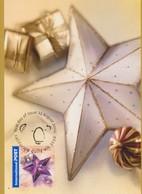 Australia 2002 International Greetings 90c Christmas Star, Maximum Card - Maximum Cards