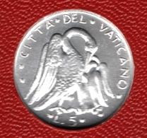 CITTA'DEL VATICANO 5 LIRE 1977 KM# 118 Paul VI Pélicans - Vaticano (Ciudad Del)
