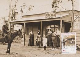 Australia 2009 Australia Post 200 Years,Early Post Office, Maximum Card, - Maximum Cards