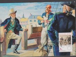 Australia 2009 Australia Post 200 Years,First Postmaster Maximum Card - Maximum Cards