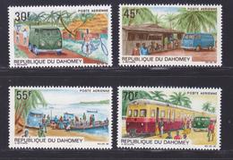 DAHOMEY AERIENS N°   85 à 88 ** MNH Neufs Sans Charnière, TB (D8685) Poste Automobile Rurale - 1968 - Benin – Dahomey (1960-...)