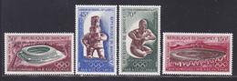 DAHOMEY AERIENS N°   89 à 92 ** MNH Neufs Sans Charnière, TB (D8686) Jeux Olympiques De Mexico - 1968 - Bénin – Dahomey (1960-...)