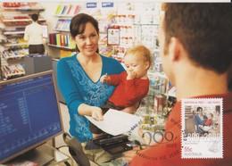 Australia 2009 Australia Post 200 Years,Retail Post Shop, Maximum Card - Maximum Cards