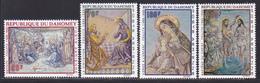 DAHOMEY AERIENS N°   93 à 96 ** MNH Neufs Sans Charnière, TB (D8687) Tableaux Religieux De Foujita - 1968 - Bénin – Dahomey (1960-...)