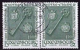 LUXEMBURG Mi. Nr. 729 O Waagrechtes Paar (A-2-56) - Luxembourg