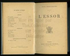 A Saisir - Livre - L'essor - Paul Margueritte - Leon Chailley - Paris  - Voir Photos - Livres, BD, Revues