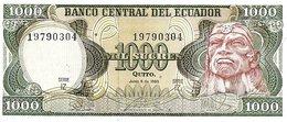 ECUADOR P. 125b 1000 S 1988 UNC - Ecuador