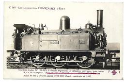TRAIN - LES LOCOMOTIVES FRANCAISES (Etat) - Machine 30-305 - Tramways