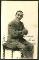 TEATRO ESPAÑOL - IGNACIO LEON Autograph Dedicacee Buenos Aires 1925 Photo PC By BIXIO - Fotos Dedicadas
