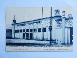 C.P.A. : 38 GRENOBLE 1925 : Exposition Internationale De La Houille Blanche Et Du Tourisme, Palais Des Industries - Grenoble