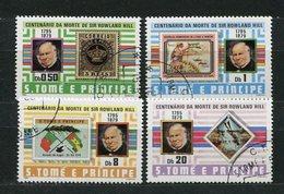 S.Tome E Principe Nr. 641/4        O   Used      (032) - Rowland Hill