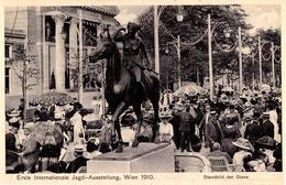 AUSTRIA / WIEN - 1910 : ERSTE INTERNATIONALE JAGD AUSSTELLUNG / EXPOSITION De CHASSE / HUNTING EXHIBITION (aa610) - Caccia