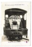 TRAIN - LES LOCOMOTIVES FRANCAISES (Etat) - Machine 230-375 Dételée - Tramways