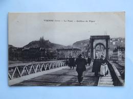 C.P.A. : 38 VIENNE : Le Pont Colline De Pipet, Animé - Vienne