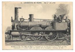 TRAIN - LOCOMOTIVES DE FRANCE (Est N° 54 à 78) - Machine N° 76 - Tramways