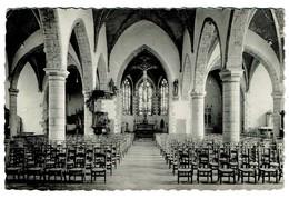 Chièvres - Intérieur De L'Eglise St-Martin - Circ. En 1957 - Edit. G. Delzenne-Constant - 2 Scans - Chièvres