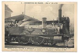 TRAIN - LOCOMOTIVES DE FRANCE (Est N° 54 à 78) - Machine N° 65 - Tramways